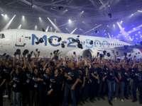 В Иркутске показали отечественный гражданский самолет MC-21 [ФОТО]