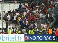Беспорядки на матче Евро-2016 Россия – Англия в Марселе