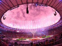 ФОТОрепортаж: Церемония закрытия Олимпиады-2016 в Рио-де-Жанейро