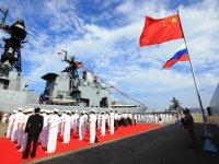 """ФОТОрепортаж: Российско-китайские учения """"Морское взаимодействие-2016"""