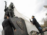 У нового памятника Ивана Грозного чуть не канонизировали: репортаж