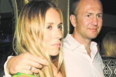 Александр Мельниченко с супругой Сандрой Николич