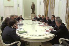 Встреча с Керри в Кремле