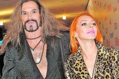 Никита Джигурда с женой Мариной Анисиной