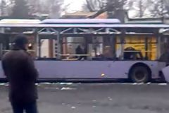 Остановку обстреляли из микроавтобуса
