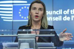 Могерини заявила, что решение о введении новых санкций будет принято в ближайшие часы