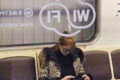С wi-fi в московском метро возникли трудности