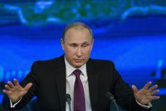 Стала известна причина обогащения Путина в 2014 году