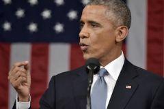 Барак Обама сообщил о положении страны конгрессу США