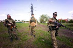 Бойцы ДНР