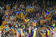 Фанаты «Барселоны»