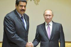 Президент Венесуэлы Николас Мадуро и российский лидер Владимир Путин