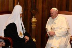 Встреча Патриарха Кирилла и Папы Римского