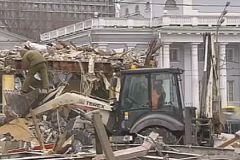 Снос опасных «самостроев» в Москве