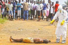 Дезинфекция умершего от лихорадки Эбола