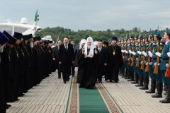 Визит Патриарха Кирилла в Ивановскую область на яхте наделал много шума