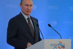 Владимир Путин на саммите G20 в России в 2013 году