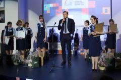 Генеральный директор Почты России Дмитрий Страшнов на Всероссийском конкурсе профессионального мастерства, организованного Почтой России