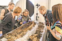 Исследование мумии мальчика с Ямала