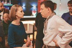 Как признаются Анна и Сергей, им весьма комфортно работать на одной съемочной площадке