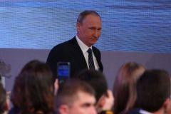 Владимир Путин на пресс-конференции 17 декабря