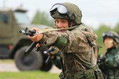 гвардеец Национальной гвардии РФ (Росгвардии)