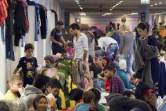 Наплыв беженцев в Германии всколыхнул Евросоюз