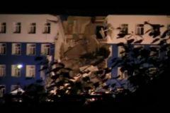 В ночь на 13 июля произошло обрушение казармы в Омске. Погибли 23 человека