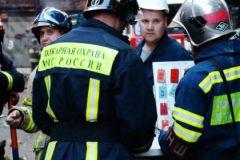 Огонь тушили 15 пожарных и четыре единицы техники