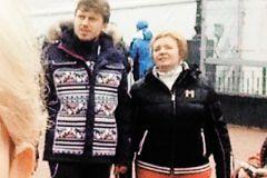Артур Очеретный и Людмила Путина