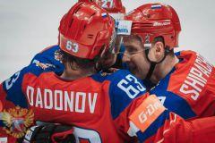 Дадонов, Шипачев и Панарин на ЧМ-2016