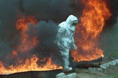На утро 17 апреля в регионе горит более 114 тысяч га