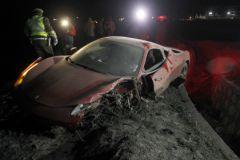 ДТП с Ferrari