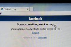 В Facebook объяснили сбой в работе сайта техническими причинами