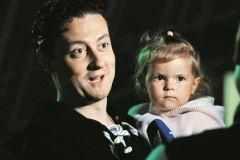 Стас Ярушин с дочерью Стефанией