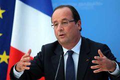 По мнению президента Франсуа Олланда, нужные условия пока не сложились
