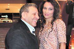 Борис Грачевский с новой подругой