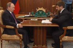 Владимир Путин и Рамзан Кадыров обсудили ситуацию в Чечне