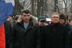 Михаил Касьянов и Борис Немцов