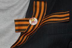 За публичное ношение георгиевской ленты на Украине предлагается ввести штраф
