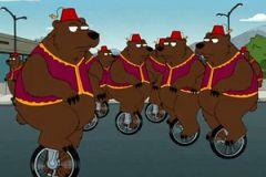 Медведи на улицах российских городов