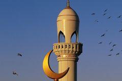 Минарет мусульманской мечети