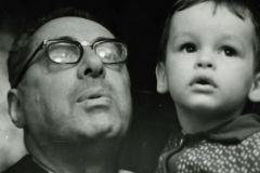 Юрий Левитан с внуком Борисом