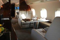 Интерьер самолета, аналогичного «сечинскому»