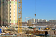 Несмотря на кризис, в Москве продолжается активная застройка