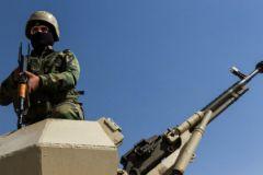 Военный в Сирии