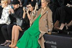 Ксения Собчак на Fashion Week Russia
