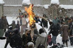 Чучело американского президента должно было быть сожжено на празднике Масленицы в селе Красный Партизан