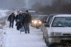 Более 5 часов в настоящее время занимает дорога от Варшавского до Каширского шоссе по МКАД (около 5 км)