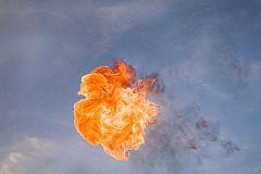 Взрыв в небе